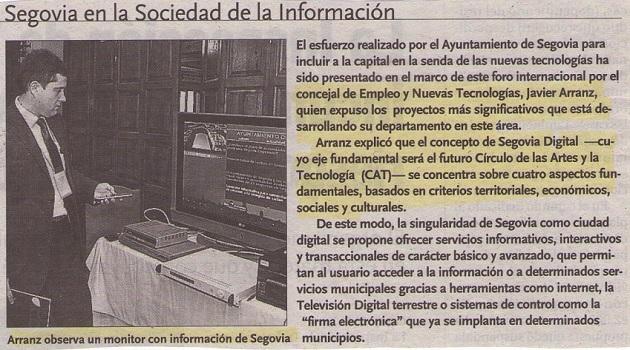 Segovia cede el testigo a Mendoza como sede del próximo Encuentro Iberoamericano