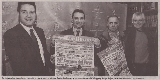 La edición número 76 de la Carrera del Pavo fue presentada en el Ayuntamiento