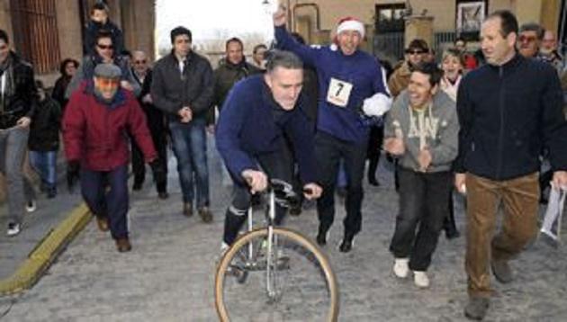 La Carrera del Pavo, una tradición