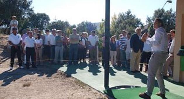 Inaugurada la escuela de golf