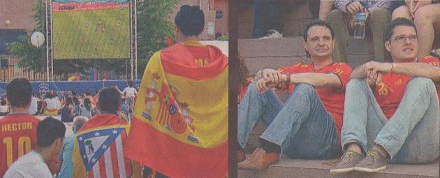 Segovia vibró con el debut de España
