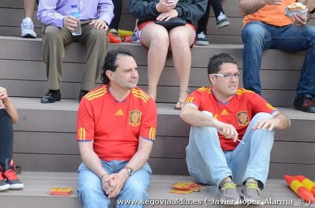 """Segovia se une a """"La Roja"""" hasta el final de la Eurocopa 2012"""