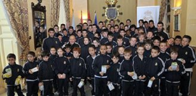 La Escuela de la Fundación Real Madrid quedó inaugurada en Segovia