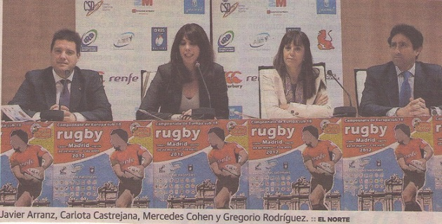 Presentado el Europeo sub 18 de rugby, en el que Segovia será subsede