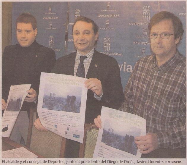 El GM Diego de Ordás organiza la Travesía Invernal a la Mujer Muerta