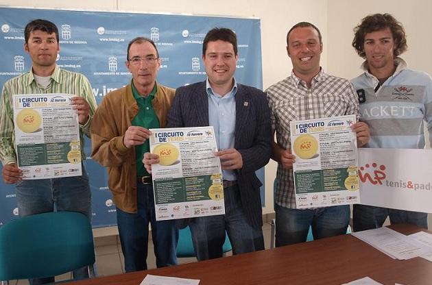 El Circuito Juan Carlos Ferrero reunirá en Madrona a las mejores raquetas de la zona centro del país
