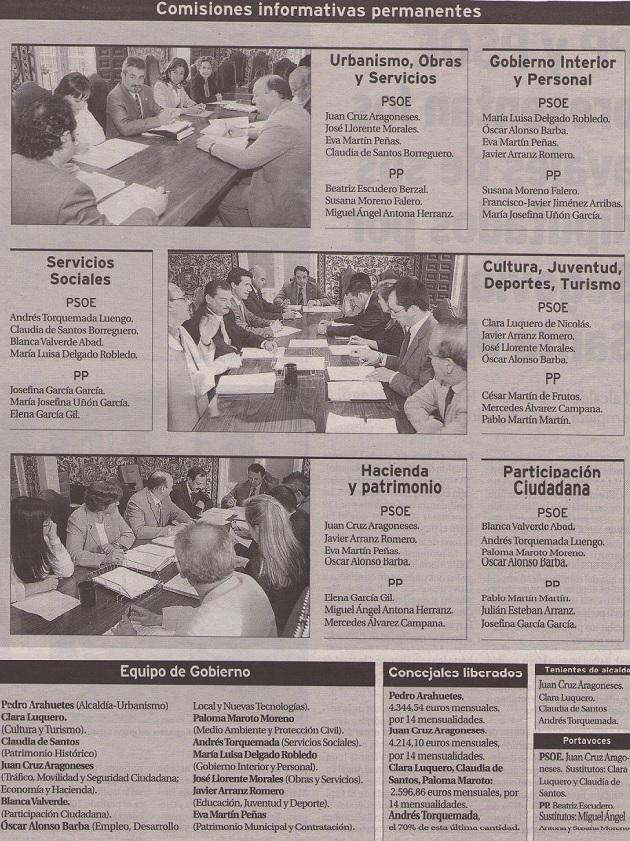 Comisiones informativas permanentes