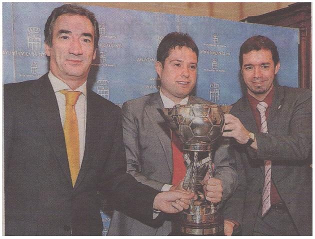 Segovia y la LNFS acuerdan celebrar la XXII edición de la Copa de España
