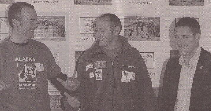 Paco Monedero parte el lunes a Estados Unidos para iniciar su expedición al McKinley