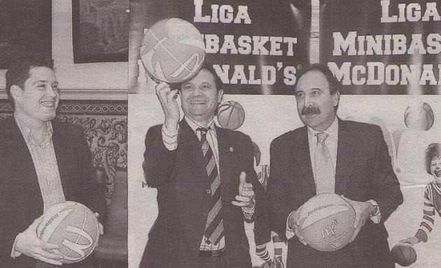 El Ayuntamiento de Segovia firma un convenio de colaboración con la Federación Regional de Baloncesto