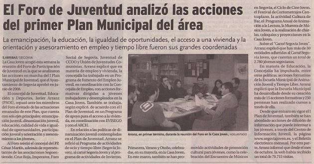 El Foro de Juventud analizó las acciones del primer Plan Municipal del área
