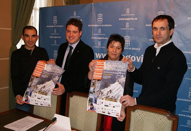 El CD Aguacero presentó las quintas Jornadas de Montaña Segovianas