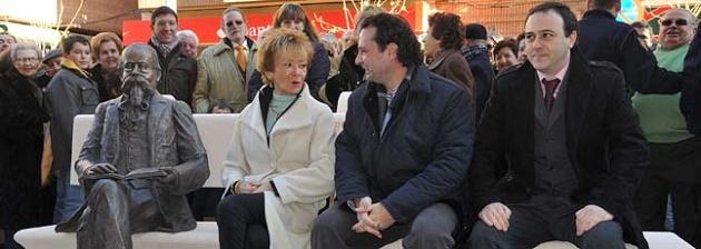 De paseo con la vicepresidenta De la Vega