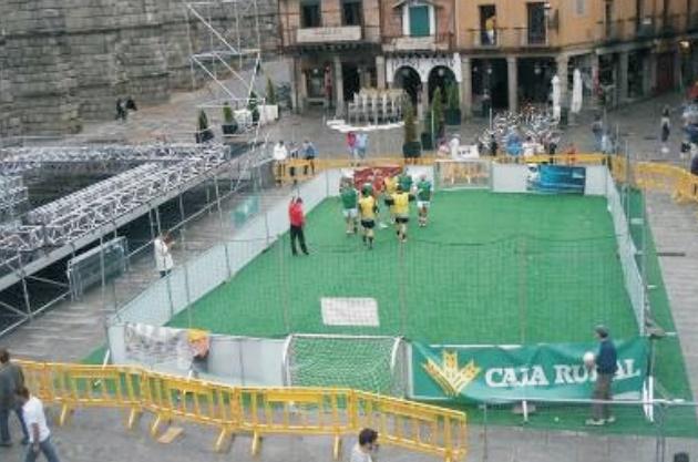 Llega a Segovia la primera edición de la Liga Trackter de Fútbol 3×3