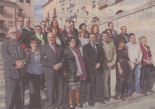 Arahuetes presenta a su lista como «un equipo ganador para Segovia»