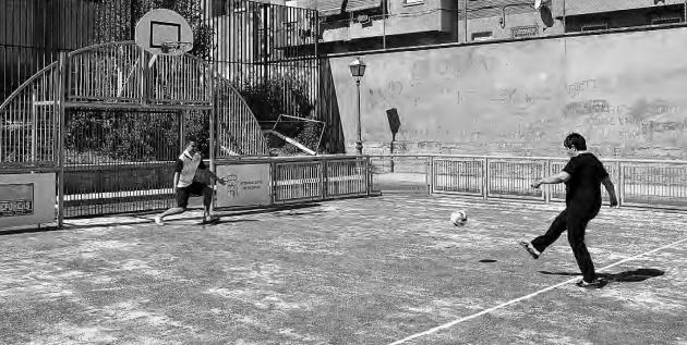 San Lorenzo cuenta desde ayer con una nueva pista polideportiva