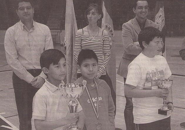 Entrega de premios de los Juegos Escolares