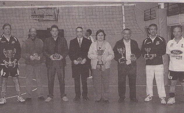 La delegación entregó los premios de la Liga Provincial