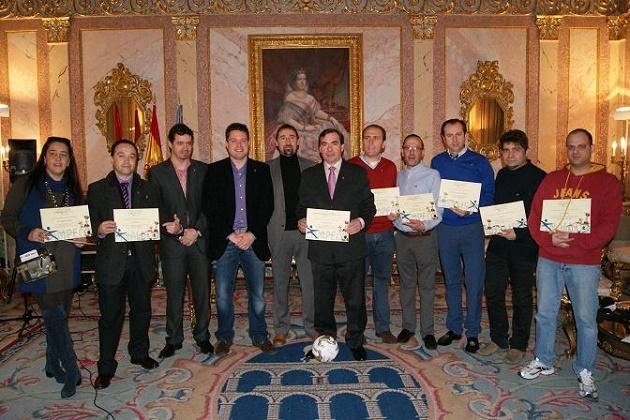 Los establecimientos ganadores del concurso La Tapa de la Copa recogieron sus premios