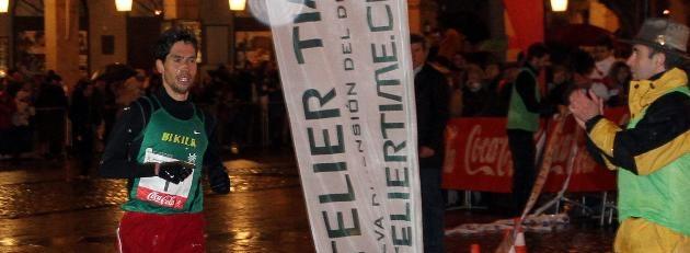 Javier Guerra y Sara Regidor, ganadores de la Carrera Fin de Año Ciudad de Segovia