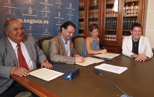 El Ayuntamiento vuelve a colaborar con el Open Castilla y León de tenis