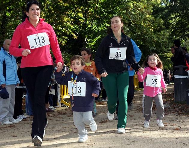 Correr en familia reunió a casi 200 parejas