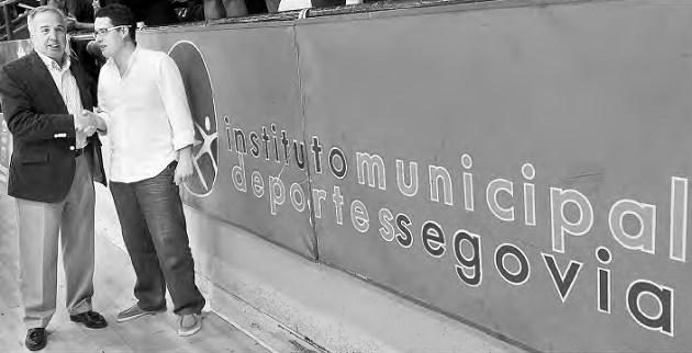 Caja Segovia FS y el IMD caminan juntos