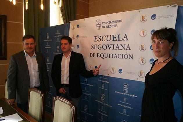 La Escuela Segoviana de Equitación pone en marcha un programa de integración
