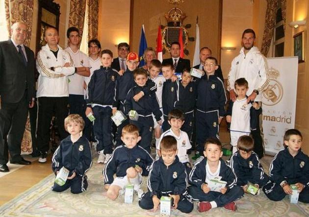 Clausura de la Escuela del Real Madrid