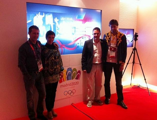 Una delegación de Segovia 2020 viaja a Londres para conocer su Olimpiada Cultural