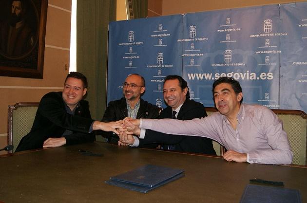 La octava edición de la Media Maratón Ciudad de Segovia se pone en marcha