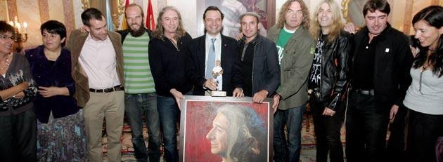 La ciudad de Segovia rinde homenaje al músico Rosendo Mercado