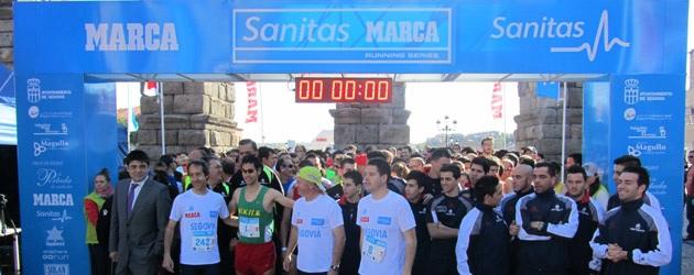 Segovia vibra con la carrera de los 'jugones'