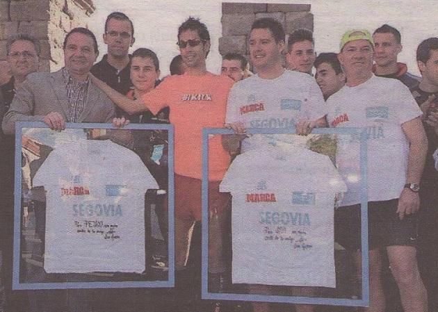 Javier Guerra y Pedro Luis Gómez vencen en la Sanitas Marca Running