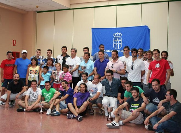Entrega de trofeos de los XXVIII Juegos Deportivos Municipales